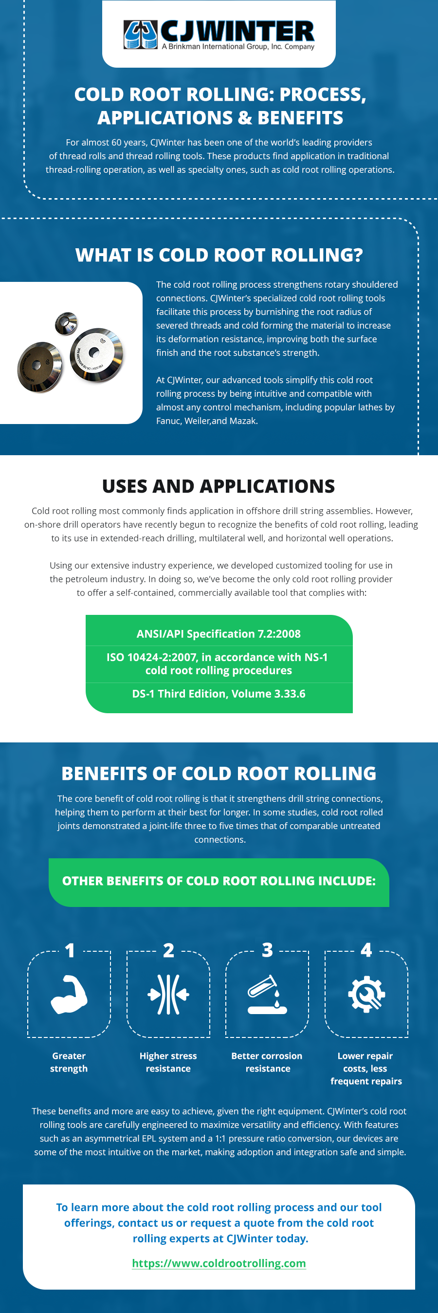 Cold Root Rolling- Process, Applications & Benefits