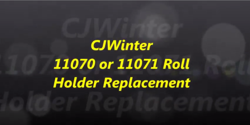 Cold Root Rolling 11070 or 11071 Roll Holder Replacement